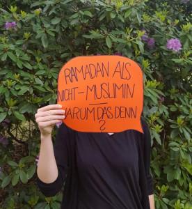 Bloggt nicht nur über Islam und Ramadan, sondern fastet selbst: eine evangelische Studentin an der TU Chemnitz. Foto: https://30tageislam.wordpress.com/page/2